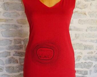Polaris in organic cotton chemise/dress