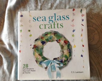 Sea Glass Craft book/Sea Glass book/Crafting Book supplies D251