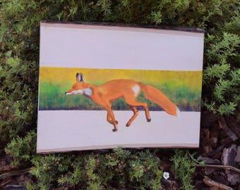 Golden Fox, Original Painting