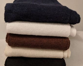 Long Stockings - 100% Cotton  for Gipsy Peddler SCA Fencing Venetians