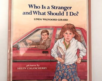 Vintage Who Is A Stranger And What Should I Do? Book