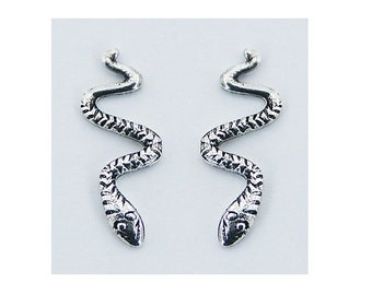 PREORDER!! 50% Off  The Serpent silver earrings
