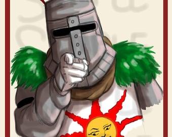 Dark Souls Praise the Sun Poster