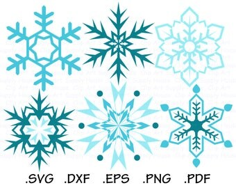 Snowflake SVG, Snowflake Clipart, Christmas Snowflake SVG, Snowflake Vector, Snowflake Cricut, Snowflake Silhouette, Snowflakes SVG - CA487