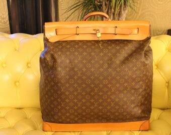 Extra Large Louis Vuitton Monogram Steamer Bag