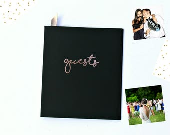 Fast Shipping > Photo Guest Book Wedding Guest Book Alternative. Instax Photo Guestbook, Birthday Guest Book. Wedding Guestbook Alternative.