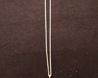 Beautiful Cross necklace on 20 inch Sterling Silver cable necklace.