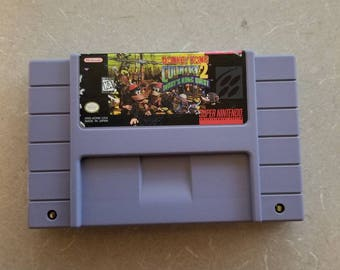 Donkey Kong Country 2 Snes Super Nintendo