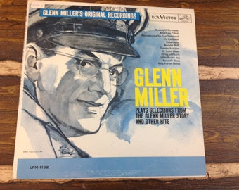 Glenn Miller Plays Selections from the Glenn Miller Story and Other Hits Vintage Vinyl Record LP 1963