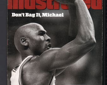 Vintage Magazine - Sports Illustrated : February 16 1998 - Michael Jordan