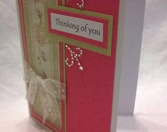Card | Thinking of You - Pink