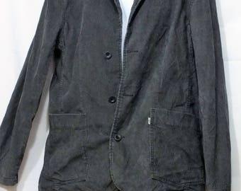 "Vintage Levis 70""s corduroy jacket blazer men's size Large"
