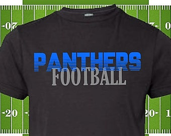 Carolina Panthers shirt ~ Men's Panthers Shirt ~ Panthers Football Shirt