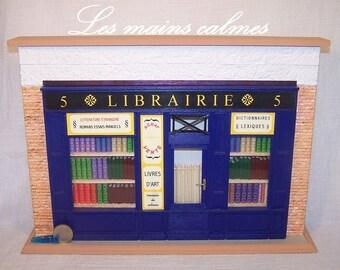 Bookshop Diorama Miniature