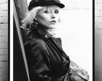 Blondie , home decor, wall art, pop icon, print, Gift for her, Debbie Harry,