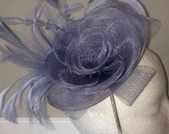 Monica -  Kentucky Derby Fascinator Hair clip, tea party hat, wedding hat, church hat, royal ascot hat, belmont stakes, fascinator hat
