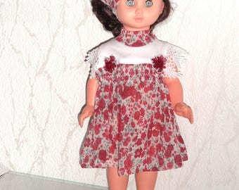 Outfit clothes doll 40 cm & work modes small beautiful gege colin compatible