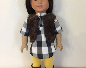 """Made to fit American Girl doll clothes 18"""""""