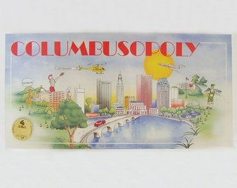 COLUMBUSOPOLY Worldopoly NEW SEALED Columbus Ohio 1990 Game, Board Game of Finance Real Estate