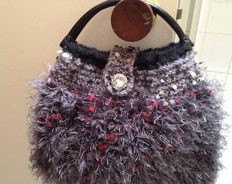 Hand made woollen bag
