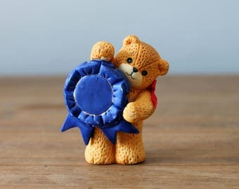 Lucy Rigg Lucy and Me Bear Blue Ribbon Enesco 1991
