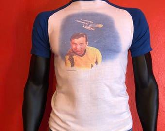 1975 Star Trek shirt Captain Kirk William shatner