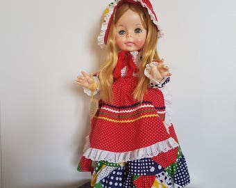 Vintage Doll /  Effanbee / 1961 Suzie Sunshine / Durable Doll /Collector Doll / Gift / Collectible