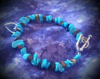 Crystal heart bracelet