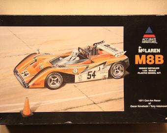 Vintage McLaren M8B Plastic Model Kit (1:24 scale)