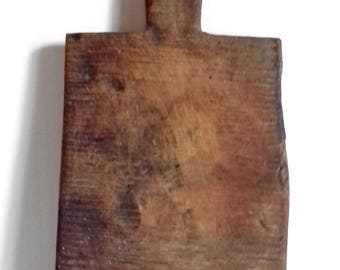 Antique Authentic Wooden Wood Cutting Chopping Board