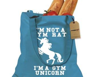 I'm A Gym Unicorn Shopping Tote Bag