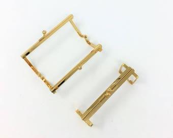Gold Coin Purse Frame
