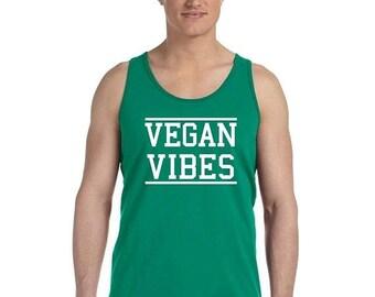 ON SALE - Vegan Vibes - Men's Tank Top