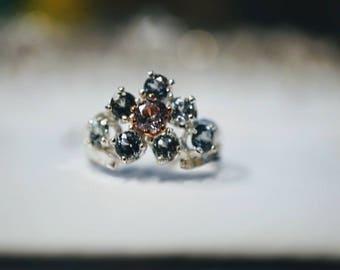 Stunning Montana Sapphire Engagement Ring