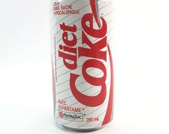 Vintage Diet Coke Can Old 80's Coca Cola  Aspartame NutraSuc 280mL