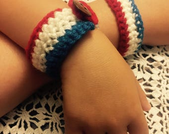 Fourth of July Bracelets for Adults and Children
