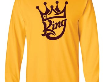 King James 23 Long-Sleeved Shirt