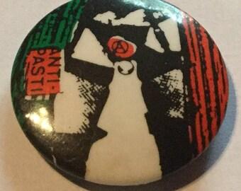 Vintage Anti Pasti Punk Badge