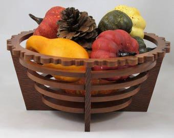 Elegant Art Basket #15