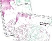 Duo Agenda & Calendrier 2018