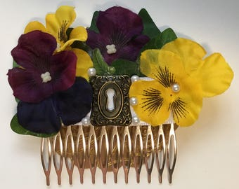Alice inspired hair comb