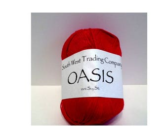 SWTC, Southwest Trading Company Oasis Yarn 502, Fiery Red
