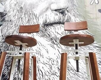 Bar stools, metal bar stools, adjustable height barstools, wood sools