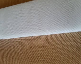white color tulle in 15cm wide