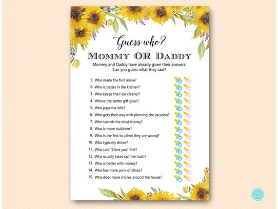 Clever image in guess who mommy or daddy free printable