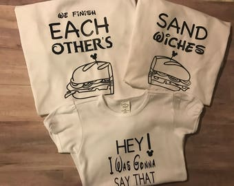 Family disney shirts