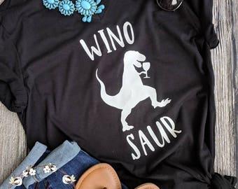 Wine shirt, Winosaur shirt, funny wine shirt, funny mom gift, rose all day shirt, drinking shirt, wine lovers gift, wine lovers shirt
