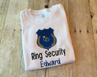 Ring Bearer shirt - Ring Bearer gift - Ring Bearer outfit - Wedding party gifts - Wedding party shirt - Gift Idea for Ring Bearer