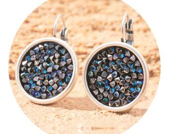 artjany earrings bermuda blue