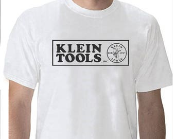 Klein Tools Electric Electrical Lineman Electrician Tool Sign T-Shirt